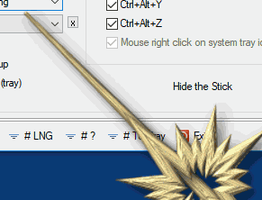 Portable tool that presents on the Windows Desktop a virtual pointer stick.