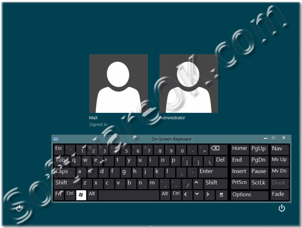 how to turn off alternate keyboard windows vista