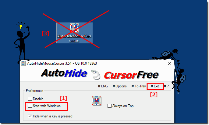 The Auto Hide Mouse Cursor Tool for Windows Desktops and Server!