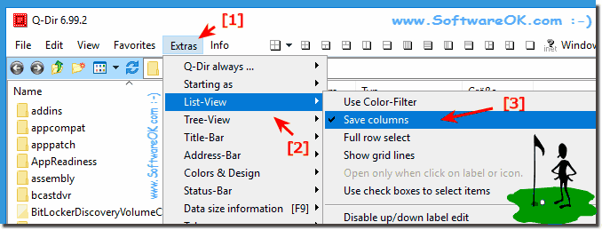 save explorer list view column settings!
