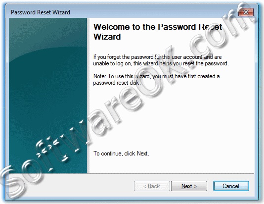 Windows-7 Password Reset Wizard