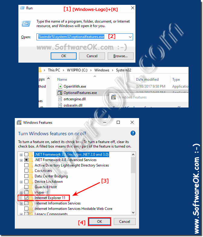 Enable and Disable Internet Explorer-11 in Windows!