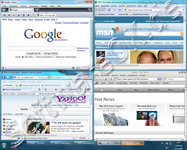 What internet browsers will work on Windows 7?