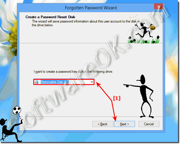 Create a password reset eg. recovery Disk for Windows 8.1 and 8!